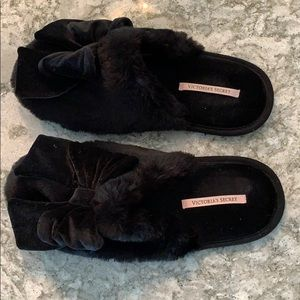 Size large Victoria Secret furry slippers